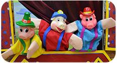 Кукольное представление «Три поросенка»